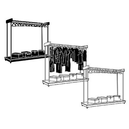 Clothes rack design