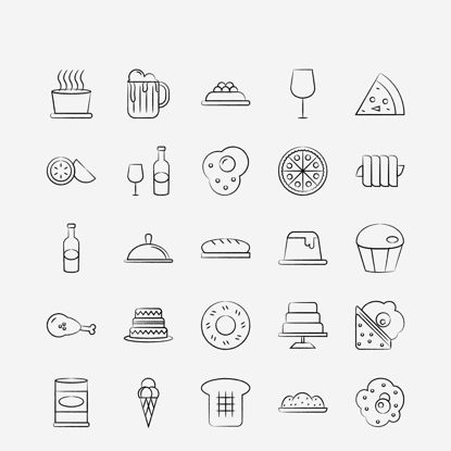 Vector kiwi, food, bakery, bread, food, cake Icon