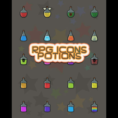 RPG Icons - Potions