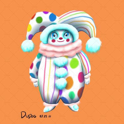 Clown Doll Original art IP