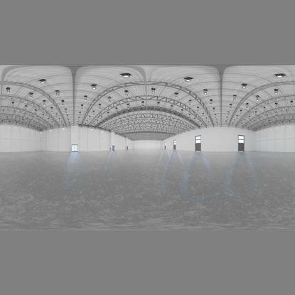 Exhibition Hall - Hangar 3d model