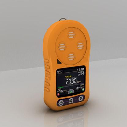 Gas detector 3d model
