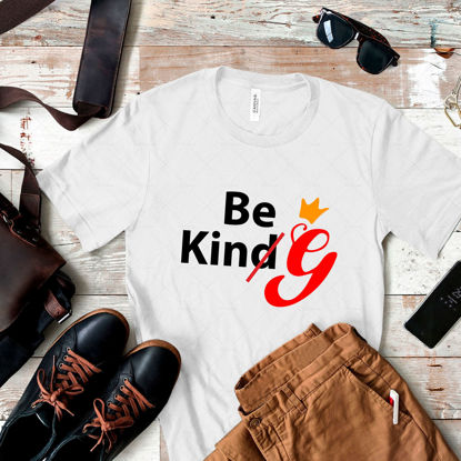 Be Kind(G).  Vector digital hand lettering