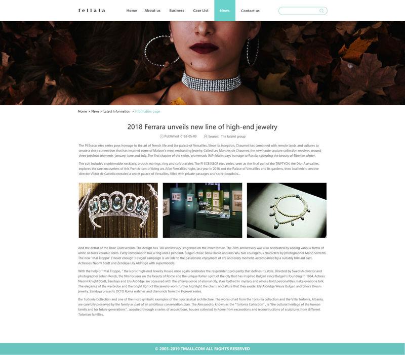 Corporate Website tempalte