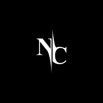 NC Monogram Logo V5 vector