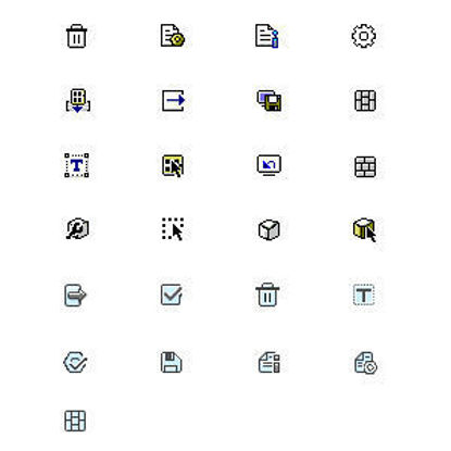 system Pixel icon