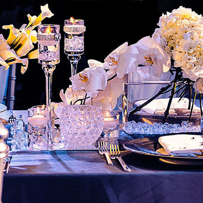 Artistic photos of table decoration