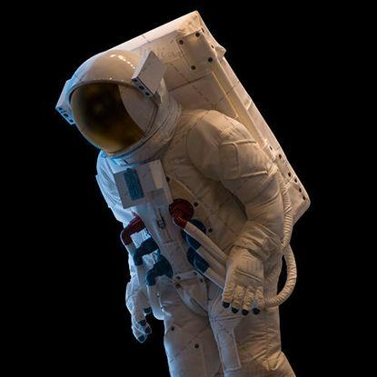 Black astronaut photo