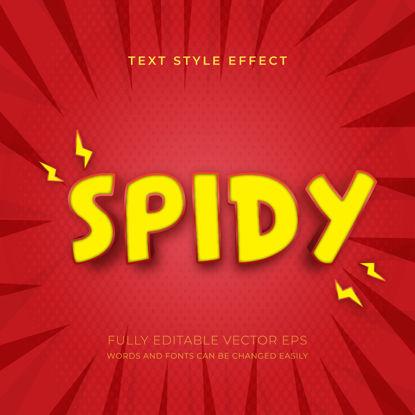 Spidy Sense Editable Superhero Style Text Effect
