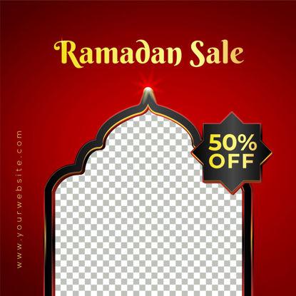 Ramadan Social Media Sale Post Banner Template