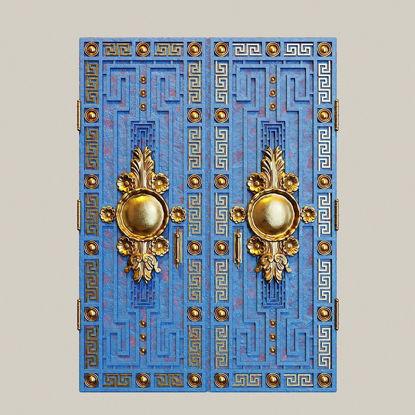 Doord and Gates 01 3d model