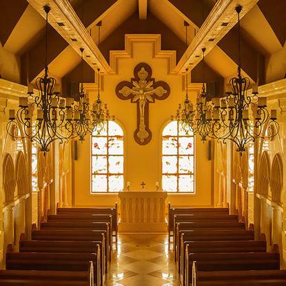 Church photo - vertical