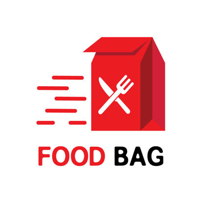 Speedy food delivery logo design
