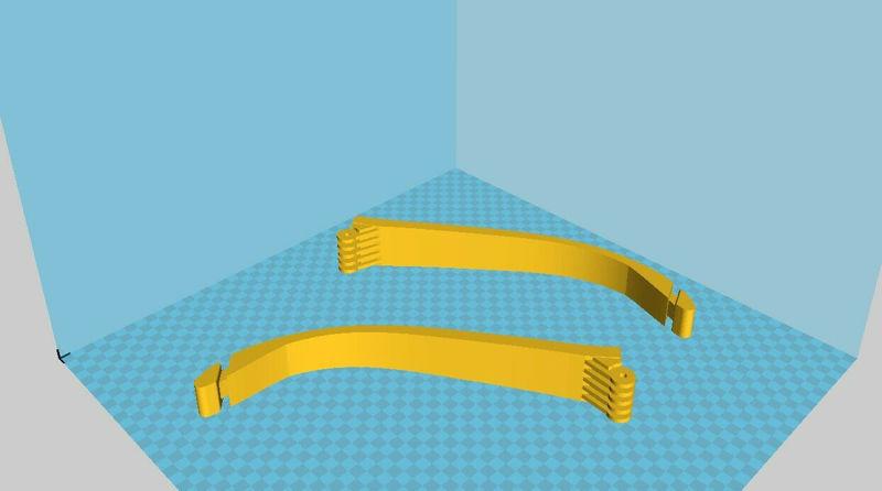 Modèle d'impression 3D pliable Hawkeye Bow