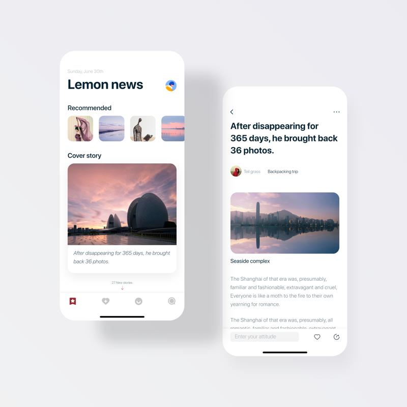 Nieuws-app UI UX Design