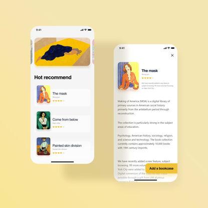 Read app ui design