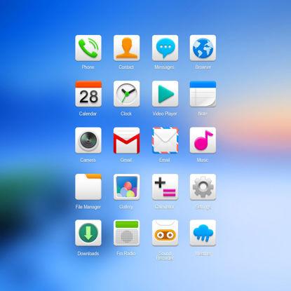 Vector phone icon 2