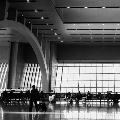 Photos of railway station hall