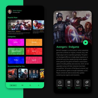 Hulu App Redesign UI UX