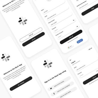 Slack App Redesign (Part 1) UI/UX