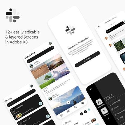 Slack App Redesign (Part 2) UI/UX