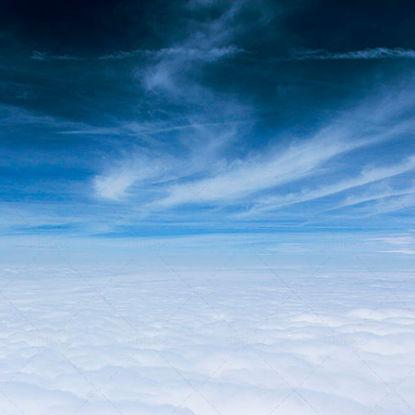 Luchtfoto's op de wolk
