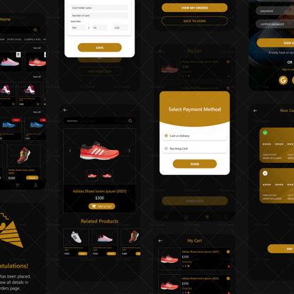 Ecommerce Shoe Selling App UI/UX