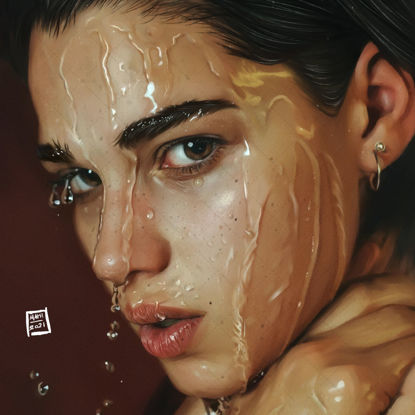 Helena Digital painting