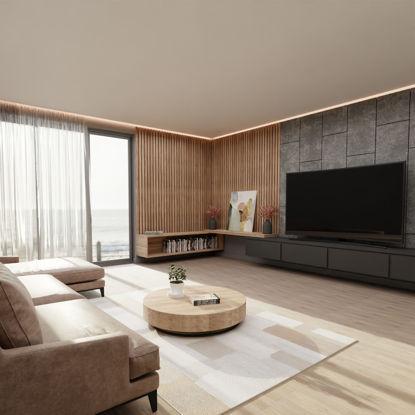 Cozy Living Room 3d