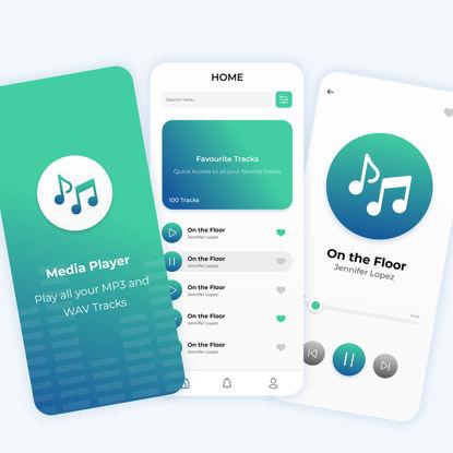 Media Player App UI/UX