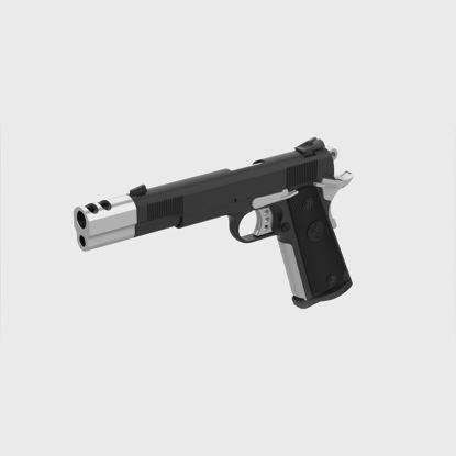 Colt M1911A1 от филма The Punisher 2004 3D модел