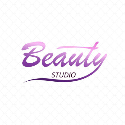 Beauty logo for a studio