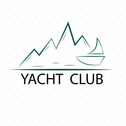 Yacht club logo for the company