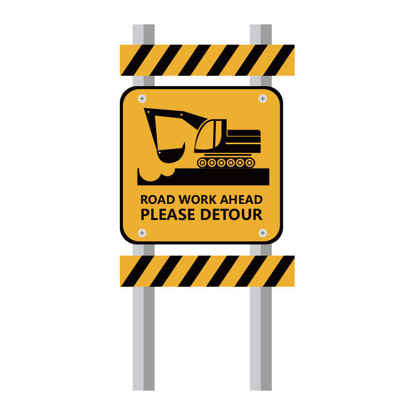 Road construction vehicle guide plate