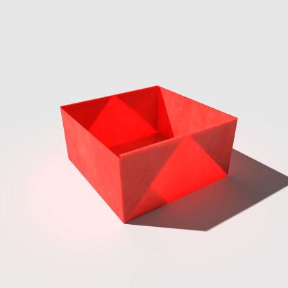 اوريغامي بوكس نموذج ثلاثي الأبعاد