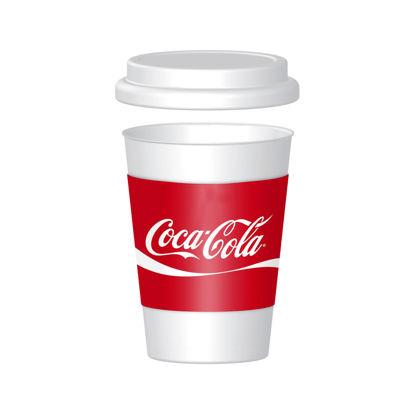 Maquette de tasse à café blanche simple PSD