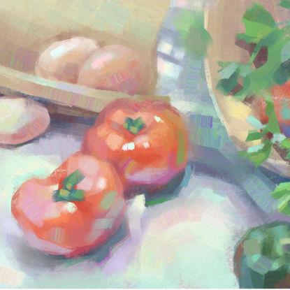 Ingredients painting