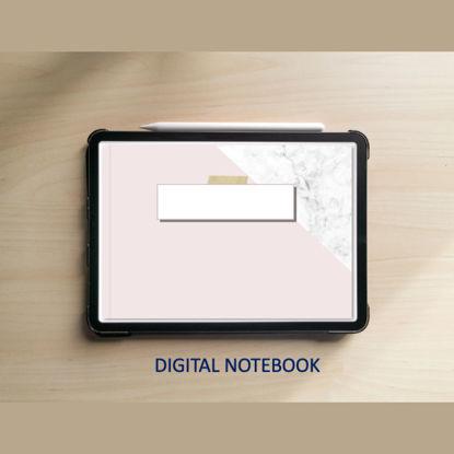 Розов цифров тефтер с хипервръзки за iPad и таблет