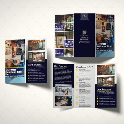 Trifold Business Brochure Template
