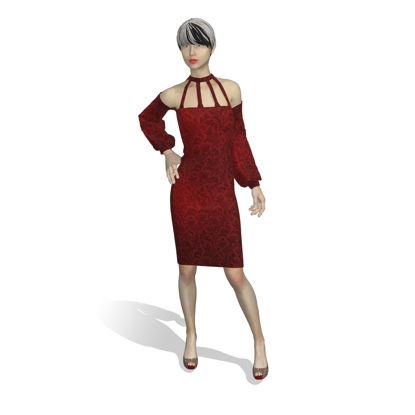 لباس مجازی طراحی صنعت 3d