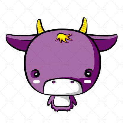 Лилаво анимационно теле