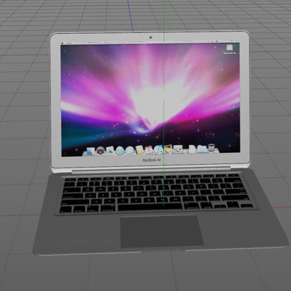MacBook Air 3d модел