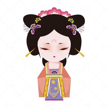 Японски костюм в китайски стил