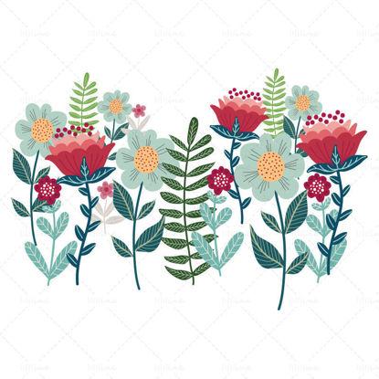 Векторни цветя
