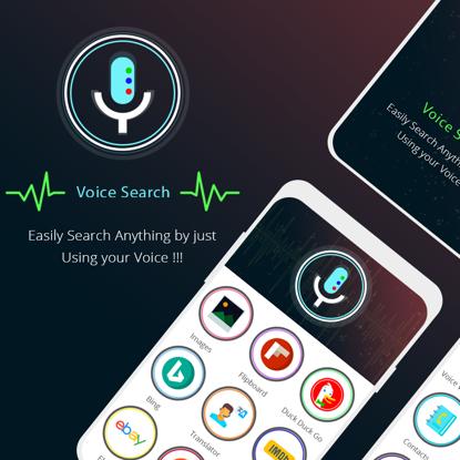 Voice Search App UI Concept