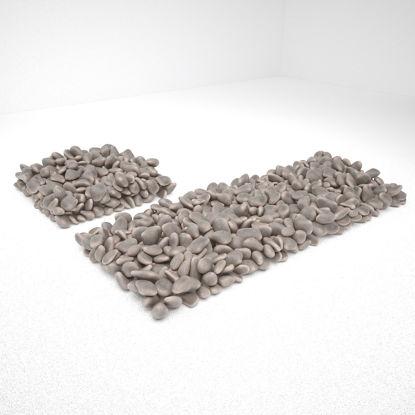 3D камък камъчета