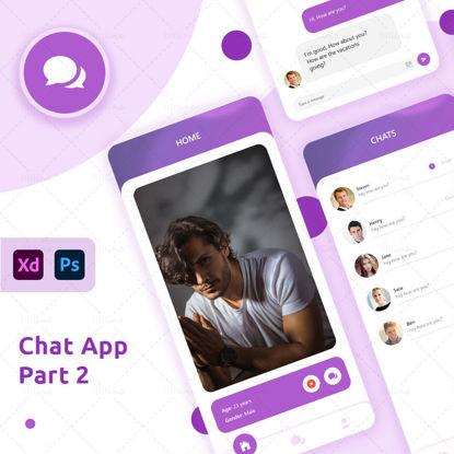 Chat App UI UX Design