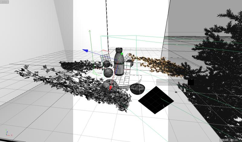 Modèle de jus modèle de bouteille de jus scène de produit d'ingénierie modèle 3d
