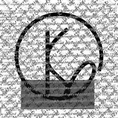 Logotipo de Word KY Estilo fácil sobre Logotipo clásico en blanco y negro para EMPRESAS