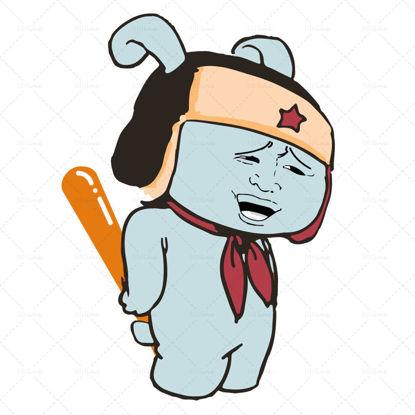 Туту кролик мультипликационный персонаж вектор